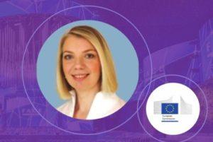 Photo of Lorena Ionita, Head of Unit at the European Commission