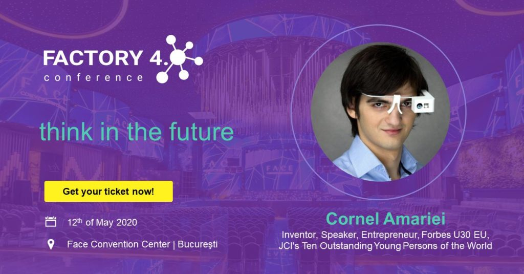 Poster of Cornel Amariei at Factory 4.0 Conference